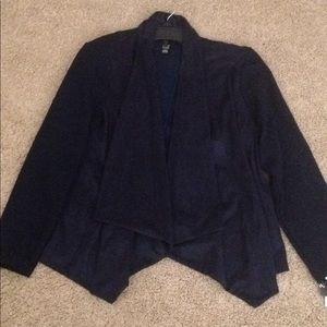 Women's new styles co petite large open blazer L
